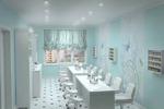 "Дизайн-проект салона ""Территория красоты""."