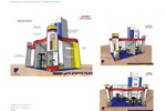 Дизайн и проектировка выставочного стенда