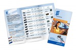 Буклет-раскладушка для комапнии Eberspacher