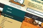 Разработка дизайна интернет-магазина рыболовных товаров.