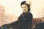 Коллаж, портрет под старину
