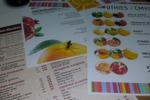 разработка макетов листовок, меню