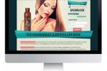 Дизайн Лендинга для Разглаживающей сыворотки для волос
