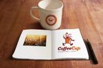 """Логотип и персонаж сети торговых точек кофе с собой """"CoffeeCup"""""""