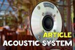 Перевод описания акустической системы
