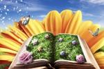 волшебная книга - коллаж