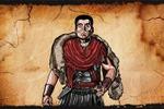 """Персонаж """"Римский воин"""" для анимационного ролика"""