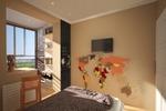 Дизайн интерьера квартиры для молодой семьи. Детская комната