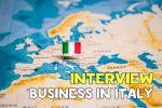 интервью о бизнесе в Италии