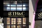 Визуализация экстерьерной вывески THC