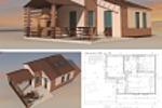 Эскизный проект индивидуального банного комплекса. ЛО