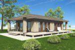 Визуализация частного дома 1