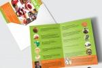 Дизайн листовки «Чай пуэр»