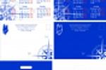 Дизайн (календарь, почтовый конверт, пакет)