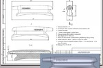 Рабочая CAD модель и КД ручки удочки зимней
