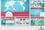Дизайн презентации для компании «Helena English»