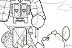 Раскраска - Винни Пух