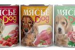 Этикетка тушенка для собак