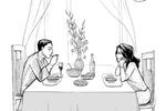Встречать мужа ужином