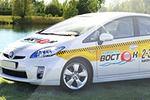 Брендирование автомобиля такси
