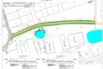 Сводный план Конструкции д.о.и пешеходного тротуара