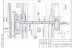 Надземный пешеходный переход План с подосновой