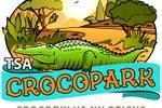 Логотип Парка с крокодилами на Кипре