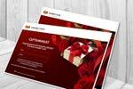 Дизайн сертификата для ателье Shabby Chik