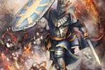 Паладин, иллюстрация для карточно-коллекционной-игры