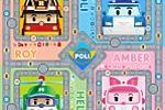 Поле для настольной игры Робокар Поли (2)