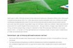 Преимущества автоматических систем полива