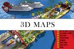 Карты проезда, планы посёлков, инфокарты городов и кварталов