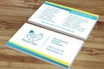 Разработка дизайна визитки для агентства выписки из роддома
