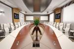 Интерьер конференц-зала для компании ФОСАГРО