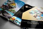"""Дизайн каталога для отеля """"Cross Resort Hotel"""""""