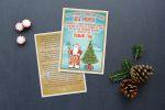 Флаер для Деда Мороза