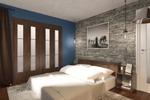 Cпальня в стиле LOFT