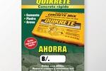 "Рекламный плакат для ""Quikrete"""