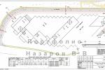 Разбивочный план по оси проезжей части ул Беговая Wellton Park Н