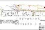 Разбивочный план по оси проезжей части ул Лесная Wellton Park Но