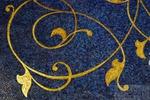 Мозаика настенная Голубая