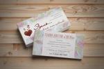 визитка, цветочный салон