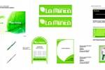 Разработка фирменного стиля для сети стоматологии LaMinta