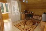 Мансардные помещения деревянного коттеджа