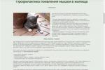 Профилактика появления мышей
