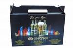 Подарочная упаковка для 6 бутылок.