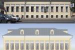 Отрисовка в вектор фасада здания
