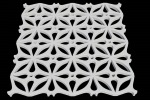Моделирование узорной плитки под трехмерную печать