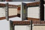 Визуализация стенда стройматериалов