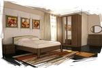 интерьер спальня 3 (эскиз)